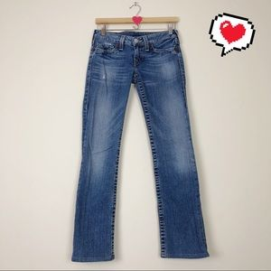 True Religion Johnny Jeans Size 27 A22